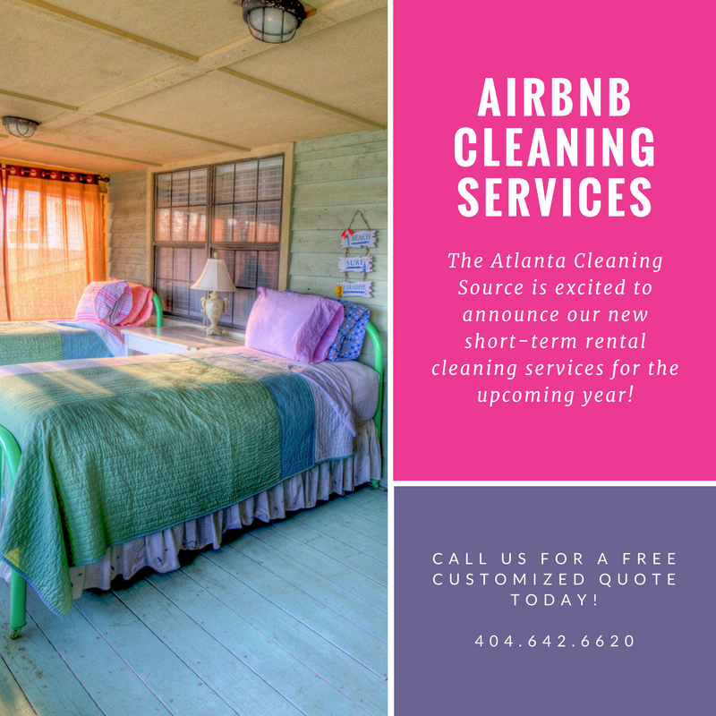 Now Offering Atlanta Airbnb Cleaning! - The Atlanta Cleaning